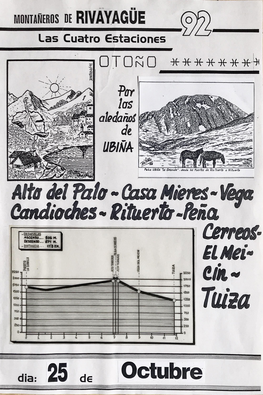 25 octubre, 1992: Peña Cerreos