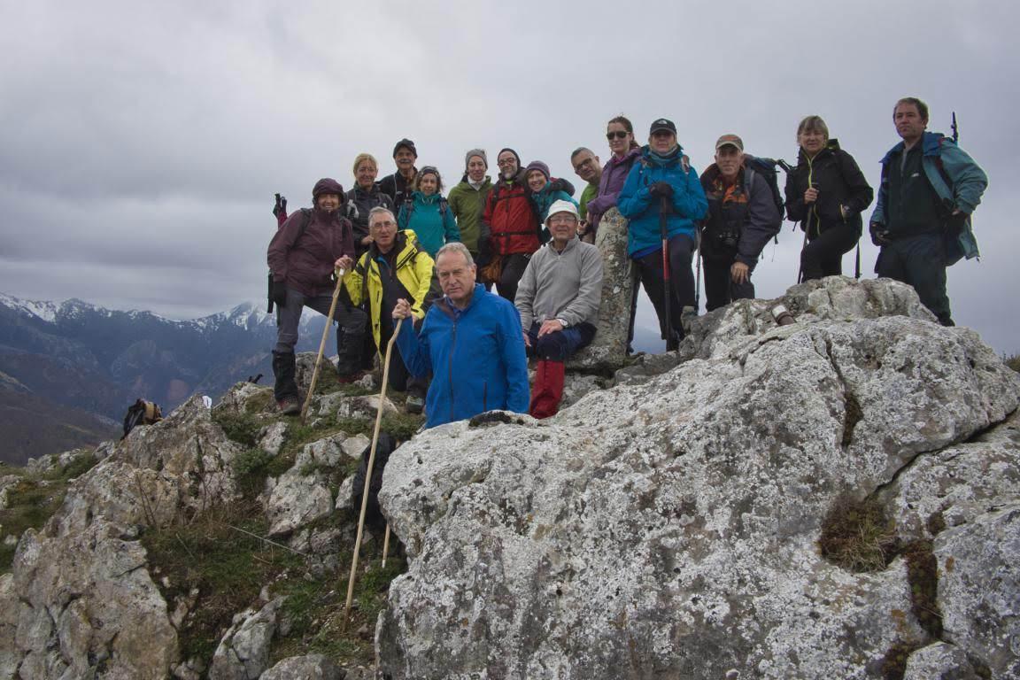 10 marzo, 2019: Pico Cuyargayos (foto de grupo)