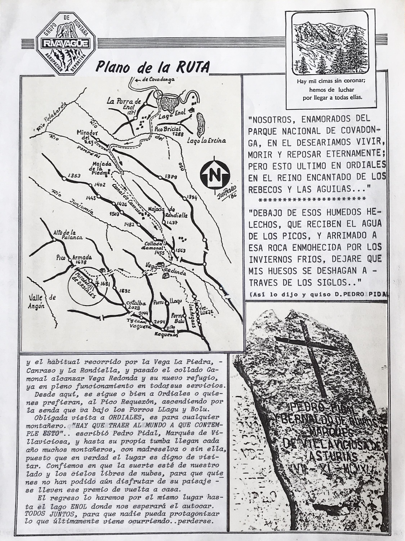 11 octubre, 1987: Vega Redonda - Mirador de Ordiales