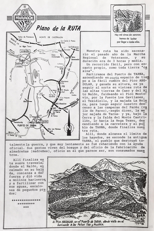 25 octubre, 1987: Picos Abedular y Montovio - Valle de Pareo - Tarna