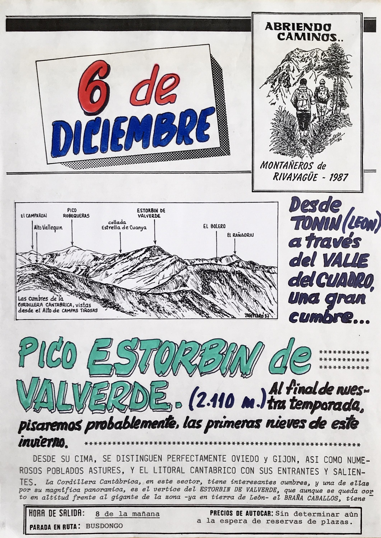 6 diciembre, 1987: Pico Estorbín de Valverde