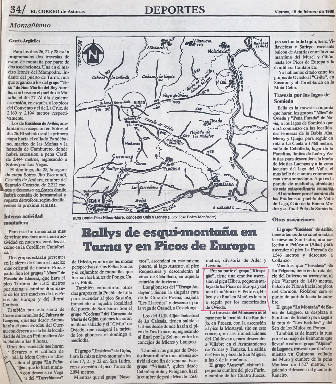 21 febrero, 1988: Pico Hibeo