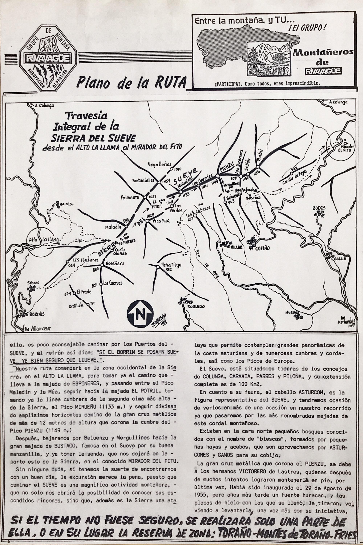 20 marzo, 1988: Sierra del Sueve