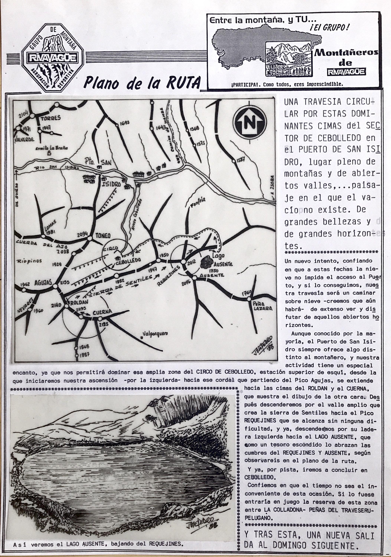 24 abril, 1988: Travesía Roldán - Cuerna - Requejines - Lago Ausente