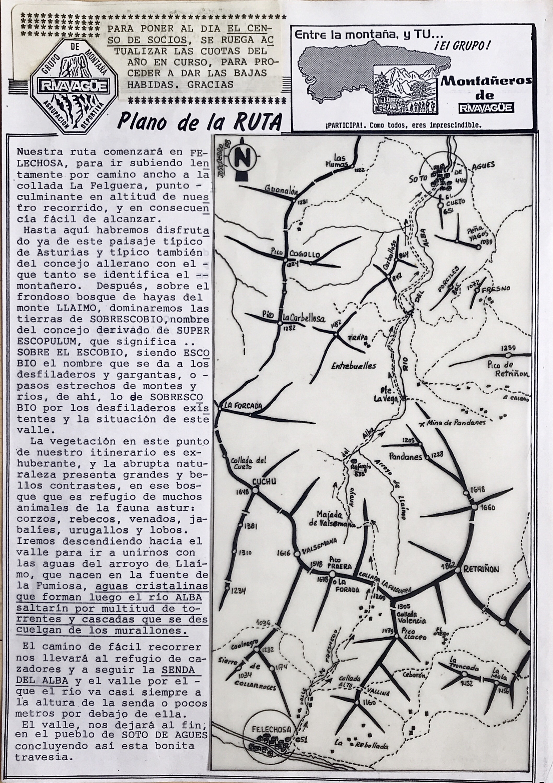 15 mayo, 1988: Felechosa - Ruta del Alba - Soto de Agues