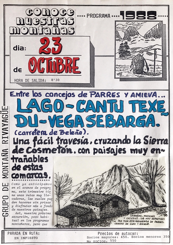 23 octubre, 1988: Cantu Texedu