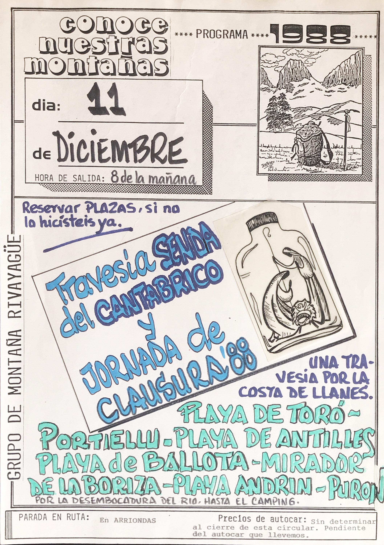 11 diciembre, 1988: Senda del Cantábrico