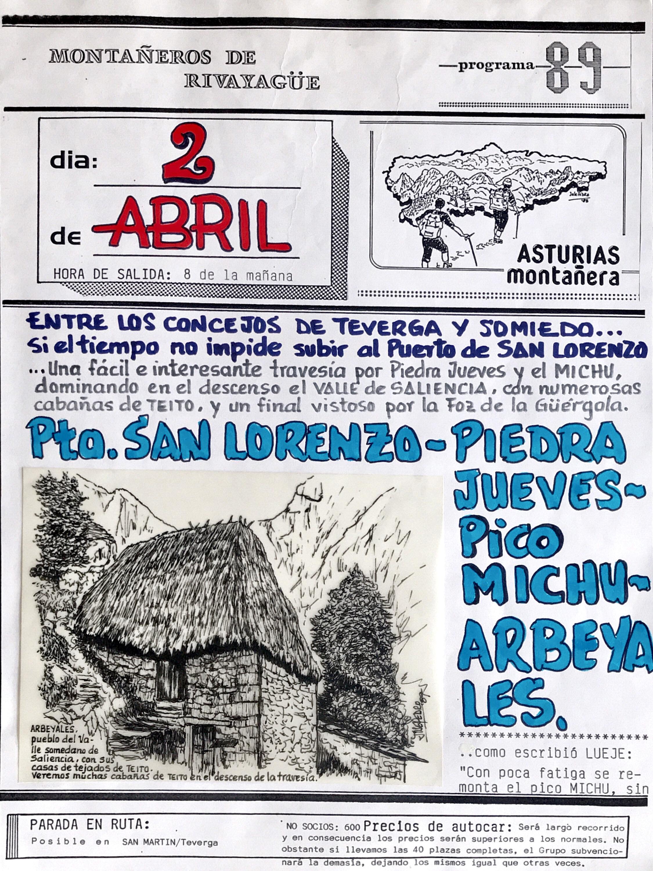 2 abril, 1989: Pico Michu