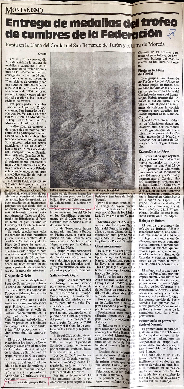 25 junio, 1989: Sotres - La Hermida