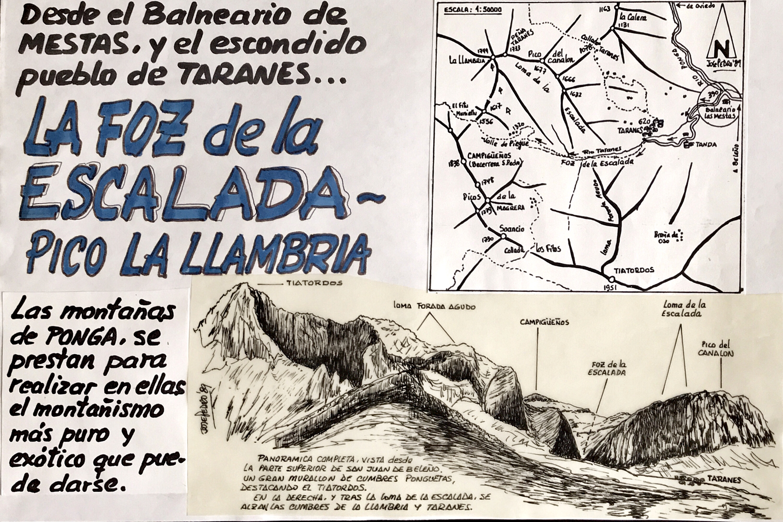 5 noviembre, 1989: Pico La Llambria