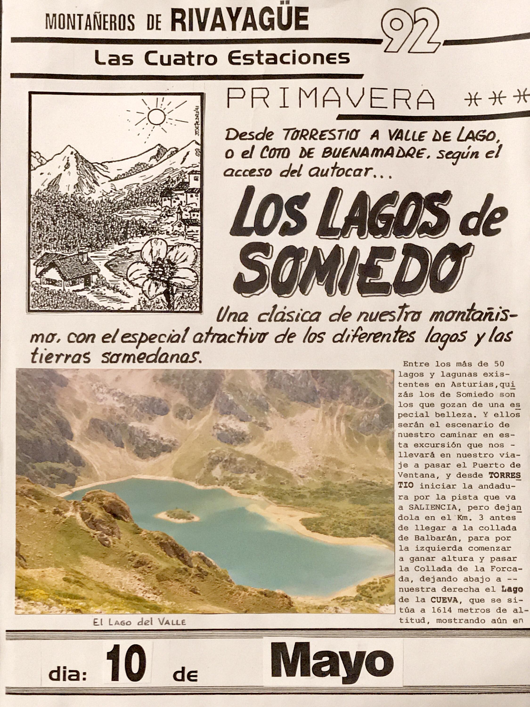 10 mayo, 1992: Lagos de Somiedo