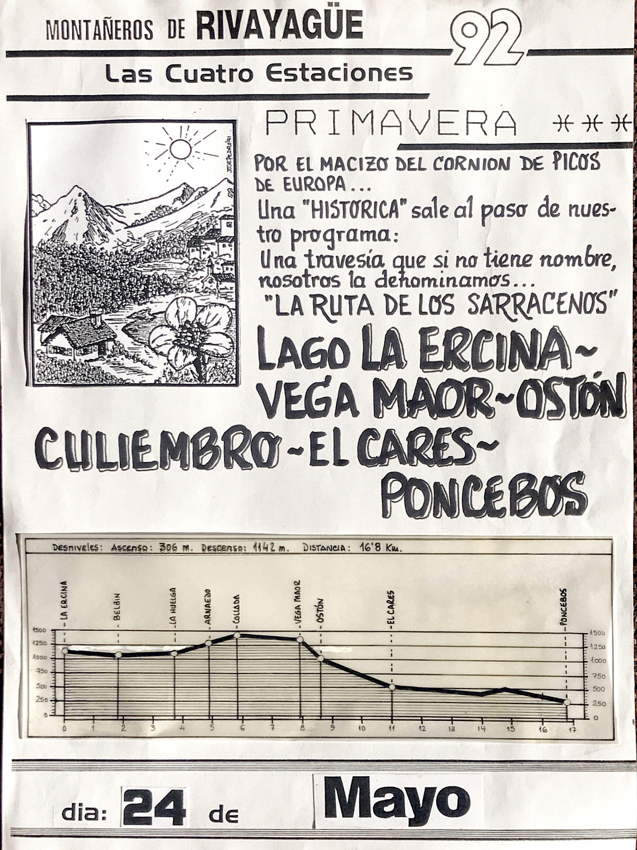24 mayo, 1992: Lago Ercina - Poncebos