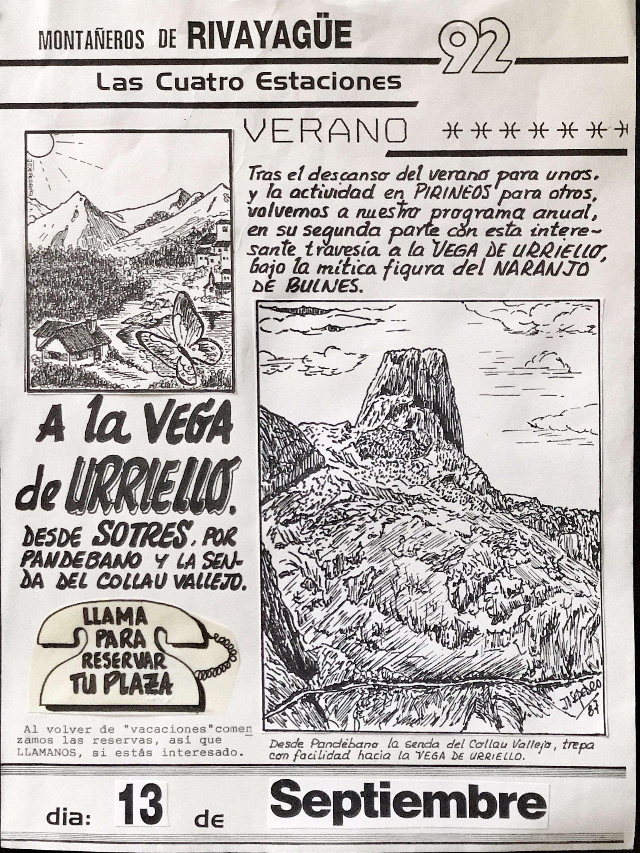 13 septiembre, 1992: Vega de Urriello