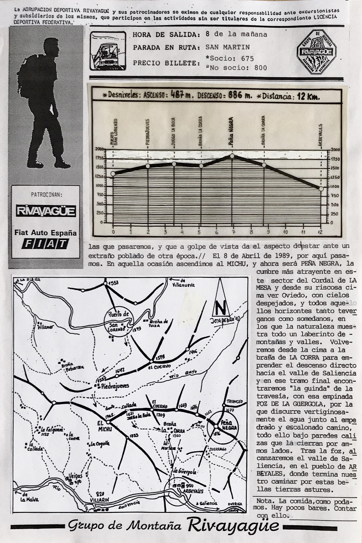 2 noviembre, 1992: Peña Negra