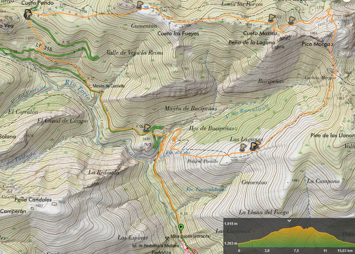 9 junio, 2019: Pico Laguna (Wikiloc / IGN)