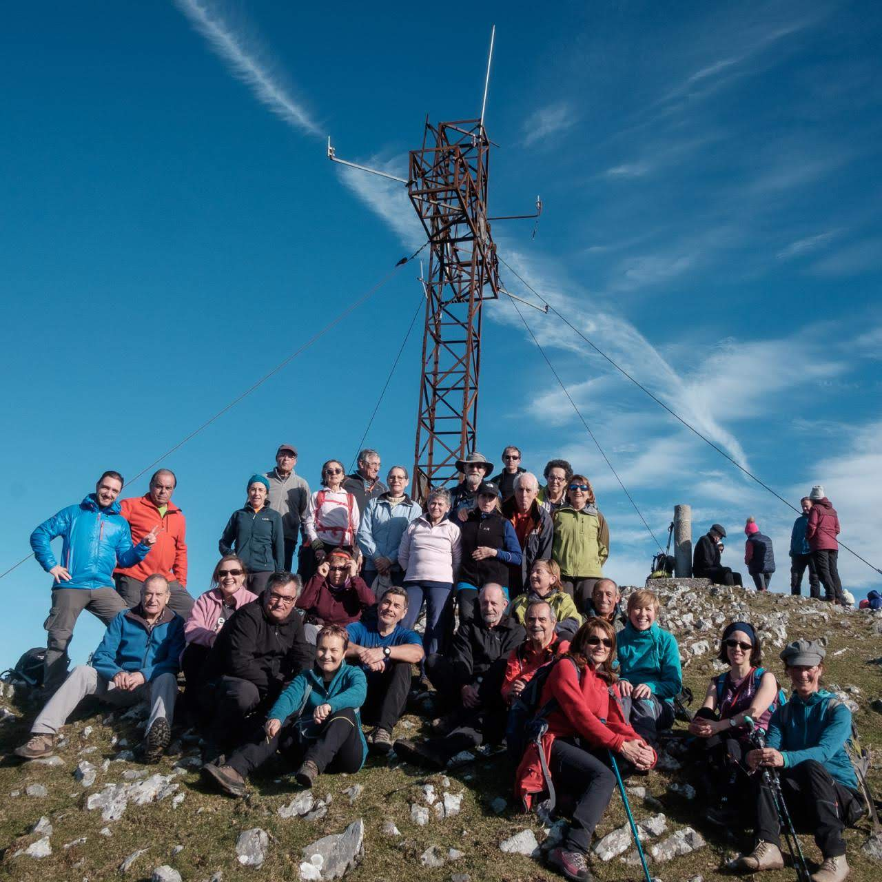 12 enero, 2020: Pico Pienzu (foto grupo)